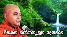 විතක්ක සණ්ඨාන සූත්ර දේශනාව 01 Ven.Koralayagama Saranathissa Thero