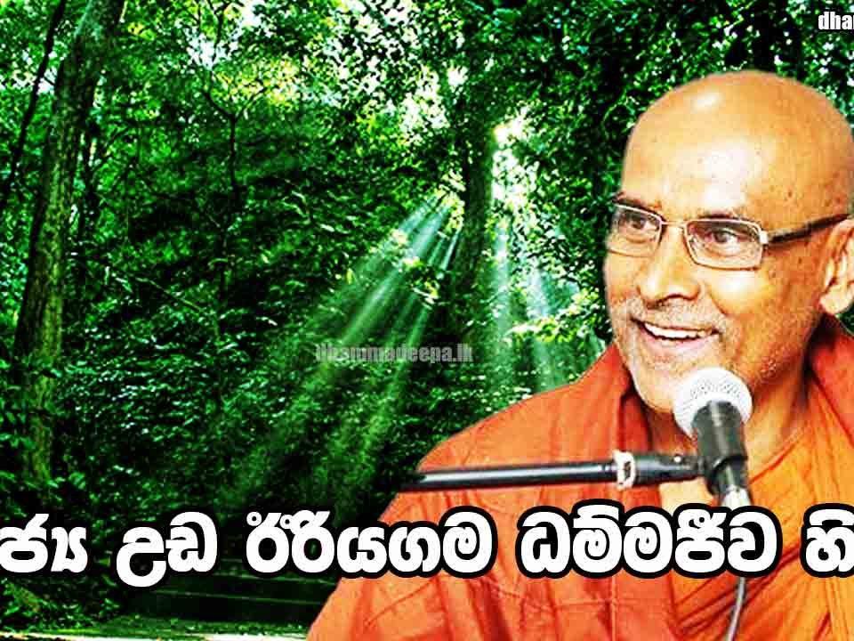 Ven.-Udairiyagama-Dhammajeewa-Thero--පූජ්ය-උඩඊරියගම-ධම්මජීව-හිමි